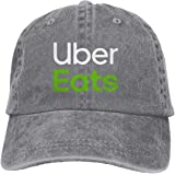 男女兼用 Uber Eats 速乾 帽子 調整可能 春夏 軽薄 アウトドア 日よけ野球帽