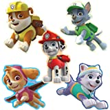 SmileMakers PAW Patrol Shaped Stickers - Prizes 100 per Pack