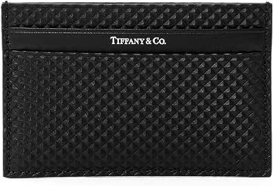 [ティファニー] TIFFANY カードケース パスケース レザー 牛革 ロゴ シンプル