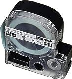 キングジム テプラPRO テープカートリッジ マットラベル(模様) 18mm タウン(グレー) SBM18H