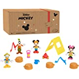 Disney Junior Mickey Mouse Funhouse 14 Piece Camping Figure Set, Mickey Mouse, Minnie Mouse, Donald Duck, and Goofy, Amazon E