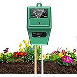3 in 1 Soil Tester, T Tersely Soil Moisture Meter,Plant Moisture/Light/pH Acidity Meter Tester, Soil Water Monitor Hygrometer