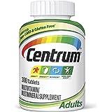 Centrum Adult (300 Count) Complete Multivitamin / Multimineral Supplement Tablet, Vitamin D3, B Vitamins, Iron, Antioxidants