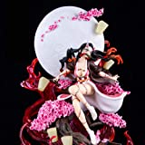 Demon Slayer Figure, Nezuko Figure, 1/6 Scale, 420 Mm Height, Sophisticated Anime Figure with High Degree of Reduction