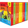 My First Library : Boxset of 10 Board Books for Kids