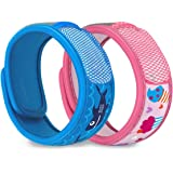Para'Kito Mosquito Repellent Bonus Pack - 2 Kids Wristbands | 2 Refills (Be Cool + Cupcake)
