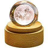 TENGEE 誕生日プレゼント 女性 人気 オルゴール おしゃれ インテリア雑貨 置物 月ライト USB充電 投影 可愛い 癒しグッズ 記念日 結婚祝い (月球-いつも何度でも)