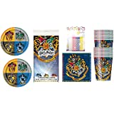 Harry Potter Party Supplies Plates Napkins Cups Table Cloth Candles
