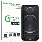 amFilm (3 Pack) iPhone 12 Pro Max Screen Protector Glass Film (2020) - Case Friendly (Easy Install) Tempered Glass Screen Pro