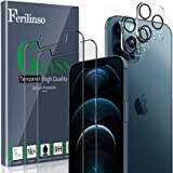 Ferilinso [4 Pack] 2 Pack Screen Protector + 2 Pack Camera Lens Protector for iPhone XX Pro Max 5G [HD] [Military Protective]