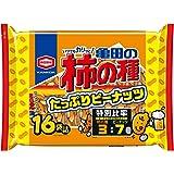 亀田製菓 亀田の柿の種たっぷりピーナッツ16袋詰 532g ×6袋