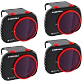 Freewell Bright Day - 4K Series - 4Pack Filters Compatible with Mavic Mini Drone