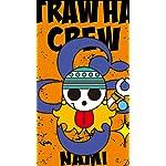 ONE-PIECE XFVGA(480×854)壁紙 海賊旗 ナミ