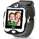 ISEE Durable Kids smartwatch, Smart Watch Touchscreen Game, Digital Watch Camera Learn Clock Alarm for Boys Girls Children (B