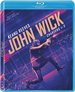 John Wick: Chapters 1-3 [Blu-ray]