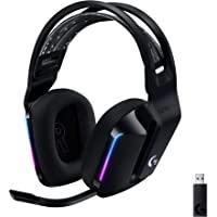 Logicool G ゲーミングヘッドセット LIGHTSPEEDワイヤレス G733 7.1ch BLUE VO!CE…