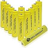 GEILIENERGY Solar Light Batteries AAA NiCd AAA 1.2V 600mAh Triple A Rechargeable Batteries for Solar Lamp Garden Lights (Pack