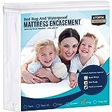 Utopia Bedding Zippered Mattress Encasement - Bed Bug Proof, Dust Mite Proof Mattress Cover - Waterproof Mattress Protector (