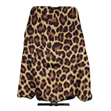 Lssfds Cool Cheetah Leopard Professional Barber Supplies Tool Tie Dye Perfection Cover Cloak Hair Dyed Hair Waterproof Cloth