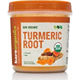 Bareorganics Turmeric Root Powder, raw organic, 8oz, 227g