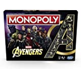 Hasbro Gaming E6504000 Monopoly Avengers game