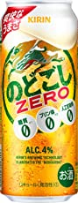 【2018年リニューアル】[糖質ゼロ・プリン体ゼロ・人工甘味料ゼロ]キリン のどごし ZERO 500ml