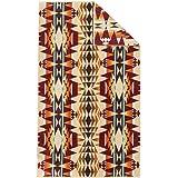 [ ペンドルトン ] PENDLETON タオルブランケット オーバーサイズ ジャガード タオル XB233-55164 クレセントビュート Oversized Jacquard Towels Crescent Butte 大判 バスタオル [並行輸