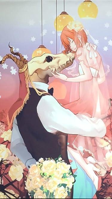 魔法使いの嫁  iPhone/Androidスマホ壁紙(640×1136)-1 - エリアス・エインズワース,羽鳥智世(はとり ちせ)