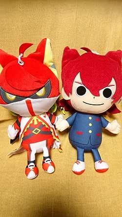 映画 妖怪学園Y 猫はHEROになれるのかでっかいぬいぐるみ 全2種 セット 妖怪ウォッチ 寺刃ジンペイ 剣豪紅丸