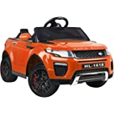 Rigo Kids Ride On Car Electric Cars Remote Control 12V Battery Powered Motor Toy[Orange]