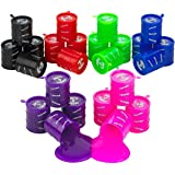 Small Barrel of Slime - 24 Pack Assorted Colors - Container 2 inches - for Kids Boys and Girls Party Favor Fun Toy Novelty Gi