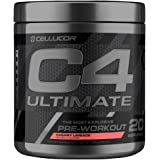 Cellucor C4 Ultimate Pre Workout Powder Cherry Limeade | Sugar Free Preworkout Energy Supplement for Men & Women | 300mg Caff
