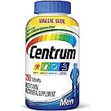 Centrum Multivitamin for Men, Multivitamin/Multimineral Supplement with Vitamin D3, B Vitamins and Antioxidants, Gluten Free,