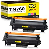 CHINGER TN760 Compatible Toner Cartridge Replacement for Brother TN760 TN-760 TN730 Used with HL-L2350DW HL-L2395DW HL-L2390D