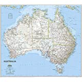 Australia Classic, laminated: Wall Maps Continents