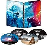 スター?ウォーズ/スカイウォーカーの夜明け 4K UHD MovieNEX スチールブック [4K ULTRA HD+3D+ブルーレイ+デジタルコピー+MovieNEXワールド] [Blu-ray]