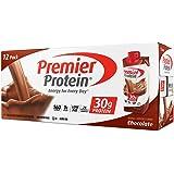 Premier Nutrition High Protein Shake, Chocolate, 18 Count -(11 fl.oz each)