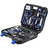 210-Piece Household Tool Kit, PROSTORMER Home/Auto Repair Tool Set with Hammer, Pliers, Screwdriver Set, Wrench Socket Kit an