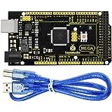 KEYESTUDIO Mega 2560 R3 Board Based on ATmega2560 ATMEGA16U2 Micro Controller Board Upgraded for Arduino Projects, Features V
