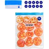VICARKO Sandwich Vacuum Sealer Bags Zipper Bags for Food Saver and Storage, compatible with VICARKO Handheld Vacuum Sealer Mo