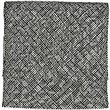 (キョウエツ) KYOETSU 正絹 名古屋帯 おび工房謹製 チェック 仕立て上がり (89)
