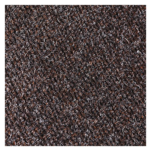 Crown MN0035DB Marathon Wiper/Scraper Mat Polypropylene/Vinyl 36 x 60 Dark Brown, 36 x 60, Dark Brown by Crown