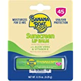 Banana Boat Aloe Vera Lip Protection Sunscreen, 0.15 Ounce