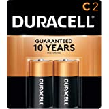 Duracell C Copper Top Alkaline Batteries (Pack of 2)