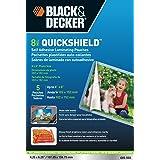 Black + Decker QuickShield Self-Adhesive 4 x 6 Photo Laminating Pouches, 8-mil, 5 Pack (4X6-5SS)