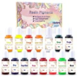 15 Color Resin Pigment,Resin Dye Resin Color Translucent Epoxy Resin Color Pigment for Resin Jewelry DIY Crafts Art Making-0.