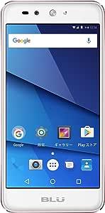 BLU(ブルー)GRAND X LTE SIMフリースマートフォン ローズゴールド 【日本正規代理店品】 G0010JJ/RGD-38