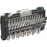 Wera Tool-Check Automotive 1 Tool-Check Automotive Bit Ratchet 38 Piece with Sockets, 38 Pieces
