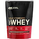 Optimum Nutrition Gold Standard 100% Whey Protein Powder, Double Rich Chocolate (1 lb.), Package may vary