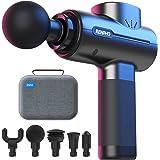 RENPHO Massage Gun Deep Tissue, Portable Massager Gun Deep Tissue Weighted Only 1.5lbs, Handheld Percussion Massage Gun Muscl